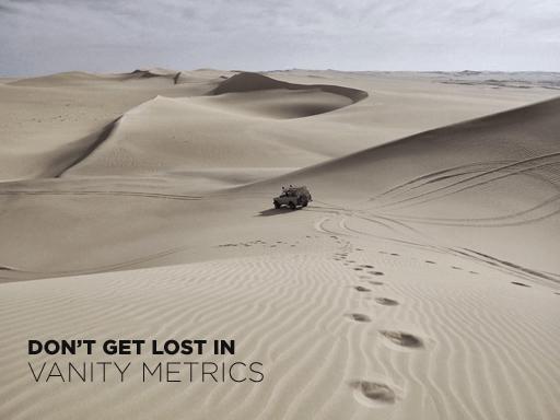 vanity metrics small